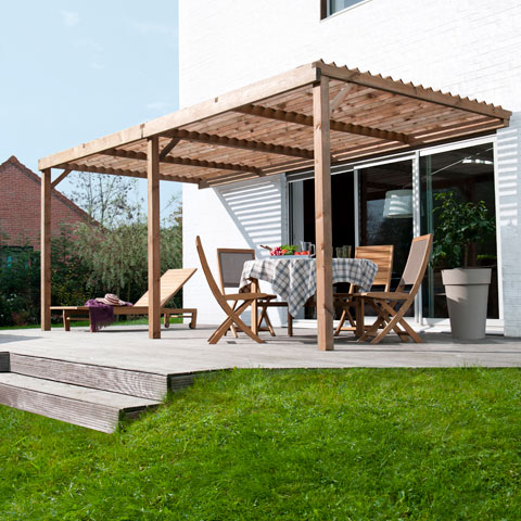 photo toiture pergola