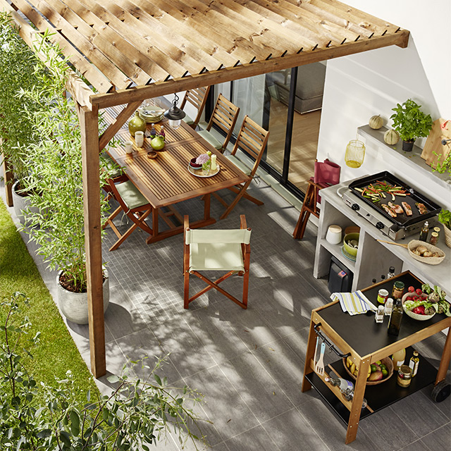 visualiser toiture pergola